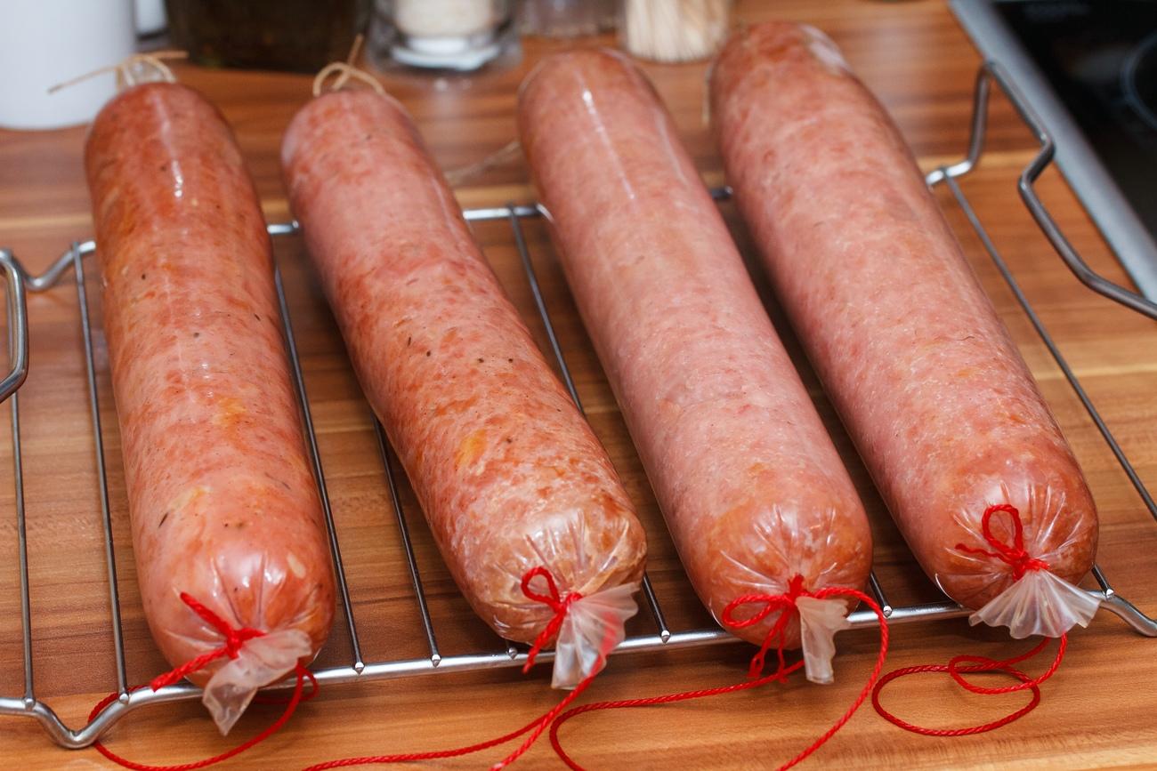 Соевая колбаса своими руками 96