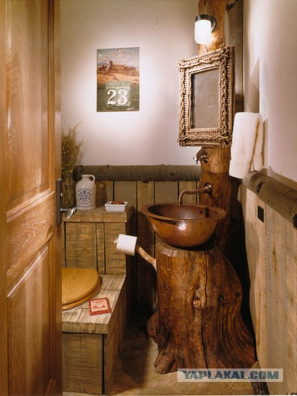 Small rustic bathroom ideas
