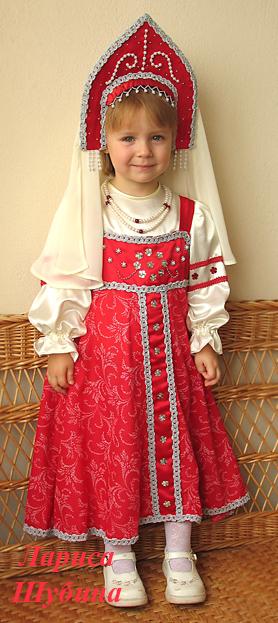 Русский народный костюм для девочки своими руками быстро