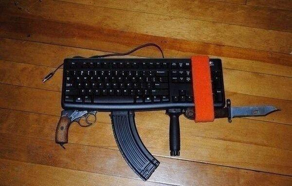 Всеобщая мобилизация клавиатурных войск