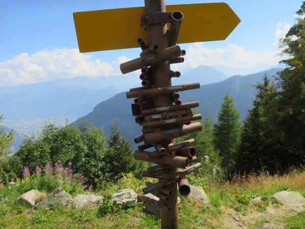 Устройство для поиска гор в Швейцарии.