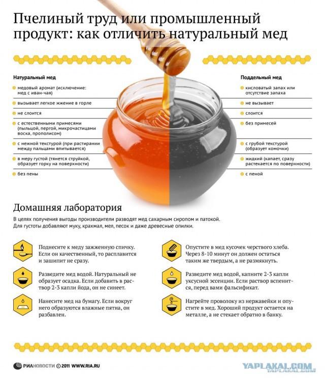 Продам желтый мед из Тамбова - В МОСКВЕ