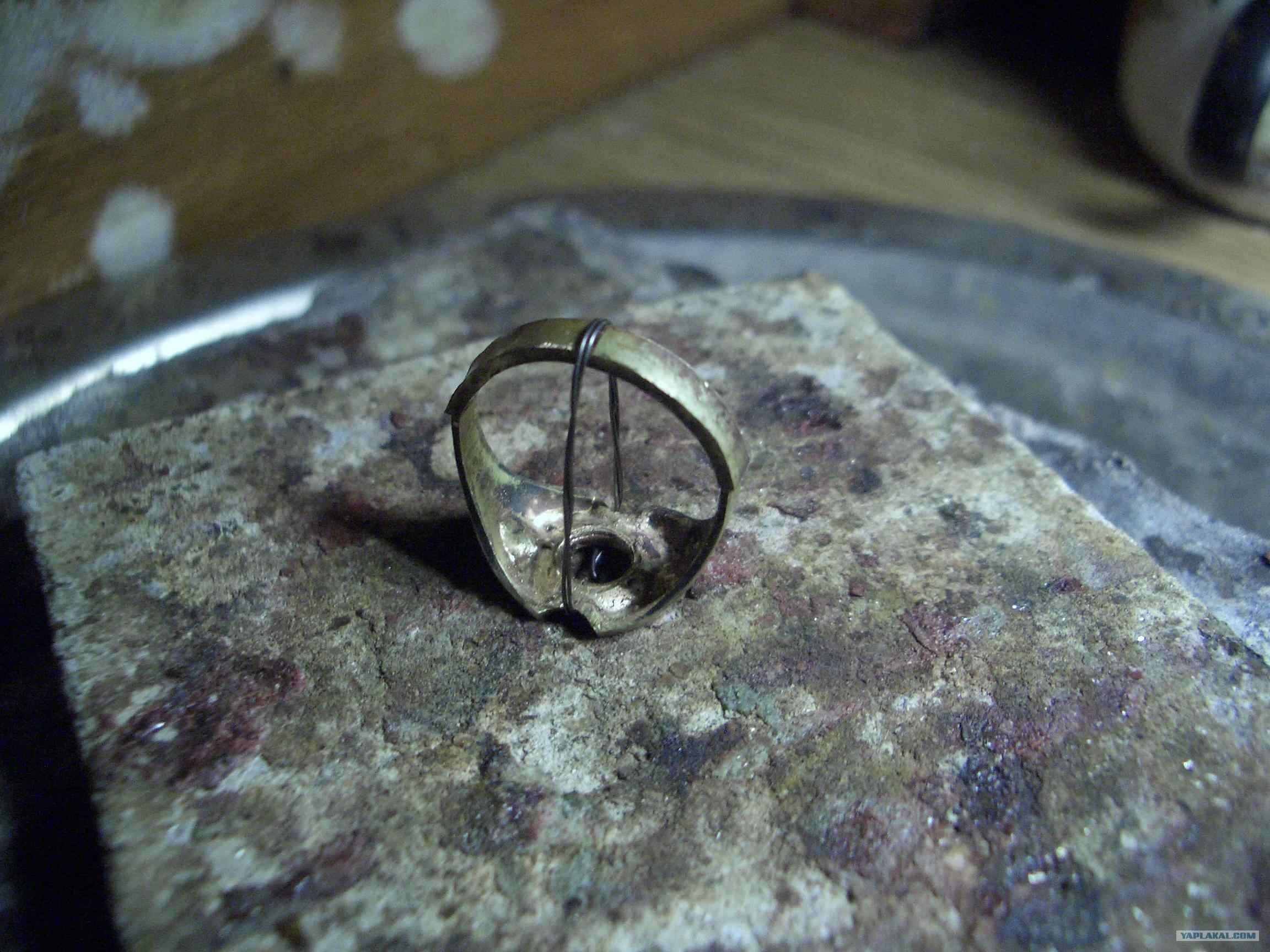 Эксклюзивное кольцо своими руками