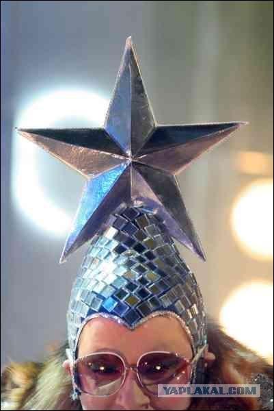 Как сделать шапку со звездой верки сердючки