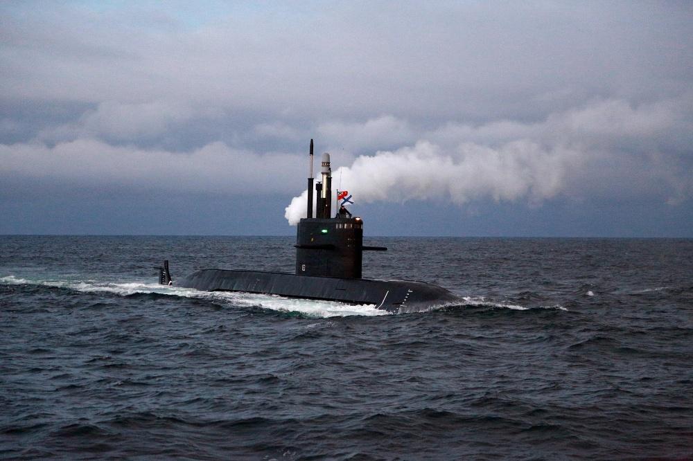 дизель-электрической подводной лодки серии лада