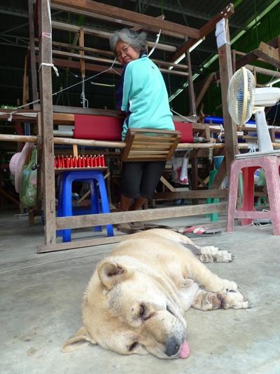 Как делают тайский шелк