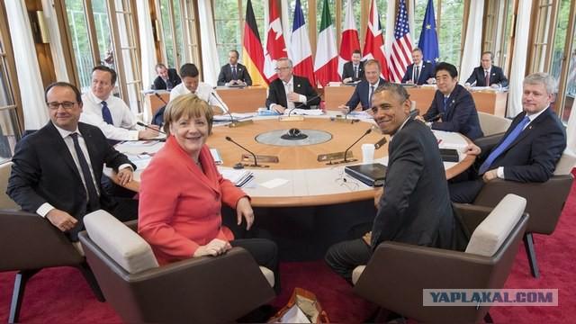 """За аресты в ФИФА Москва """"повязала всех лидеров G7"""""""