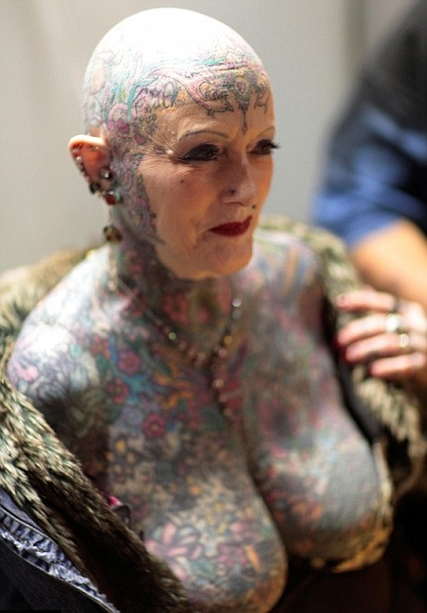 картинки татуировками теле