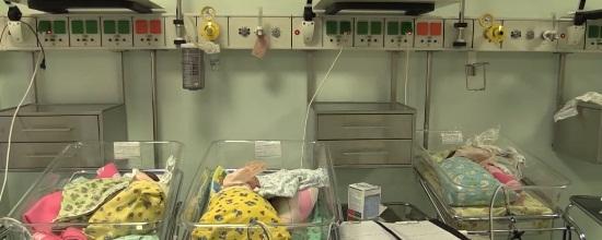 Мать шестерых детей родила тройню