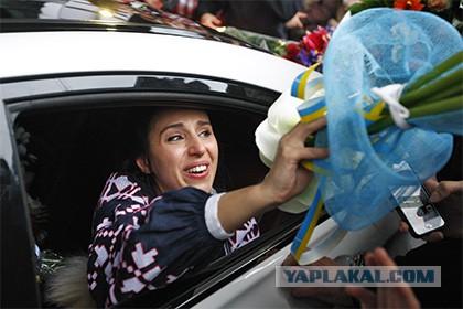 Пресс-конференцию Джамалы в Киеве по ошибке открыли песней Лазарева