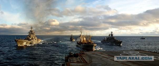 Флот России: первый боевой поход авианосной эскадры