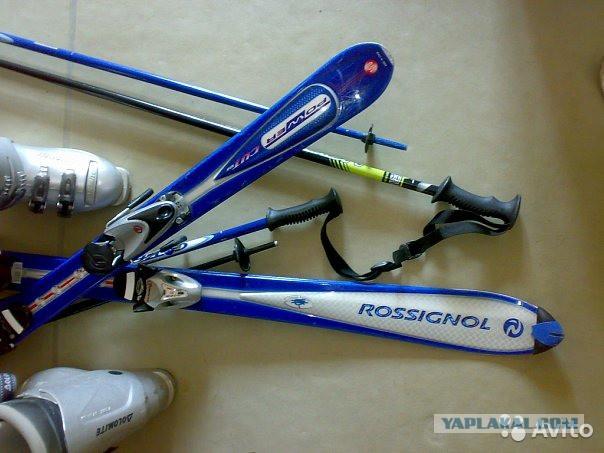 Лыжи женские rossignol 150см. ботинки dolomite 38р