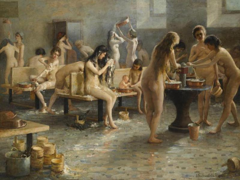 женские прелести русской бани