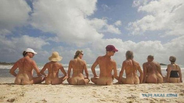 Превью nudists can definitely do more than just strolling in the beach whil