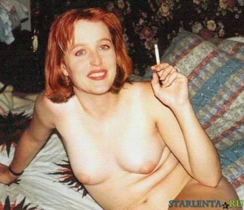 Джиллиан андерсон снялась в порнофильме