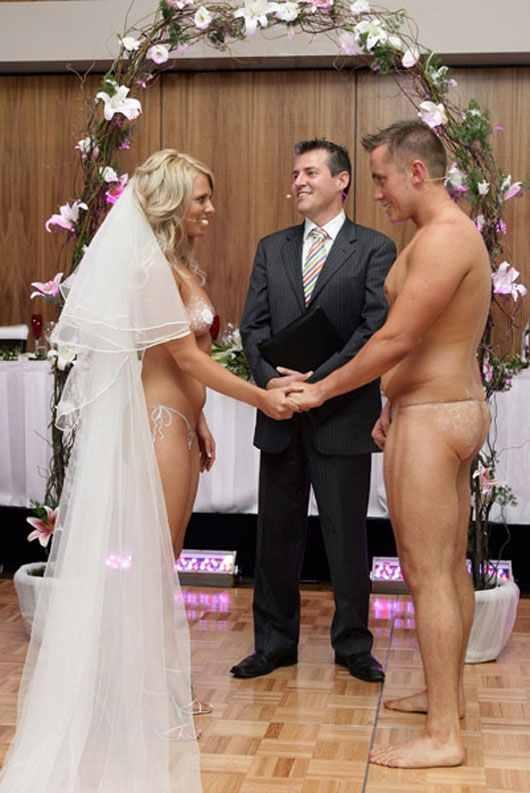 Свадьба голая фото
