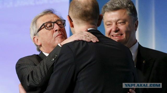 Яценюк пообещал, что через 10 лет Порошенко возгла