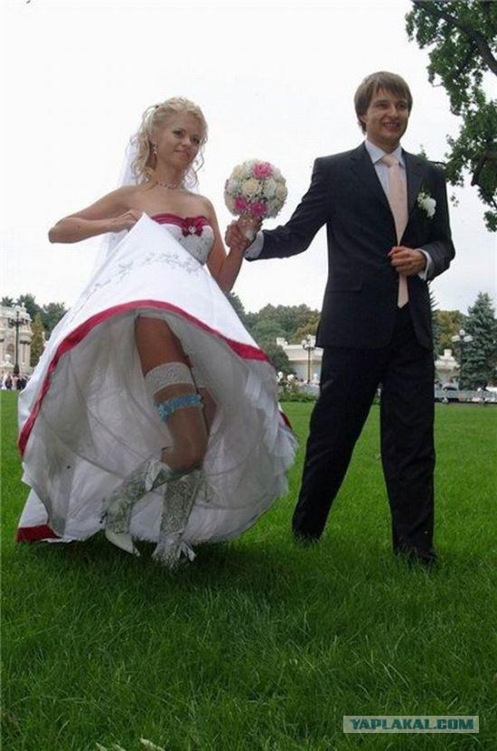 Подсмотренное на русских свадьбах видео