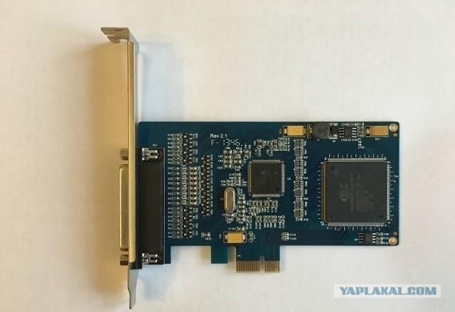 Платы видеозахвата  Линия Effio 8x25 Hybrid IP