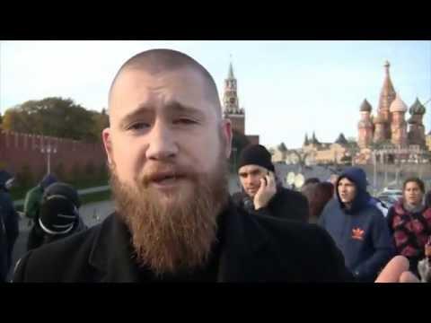 """В Москве задержали организатора """"Русских маршей""""."""