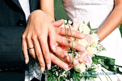 Реакция женихов на появление невесты