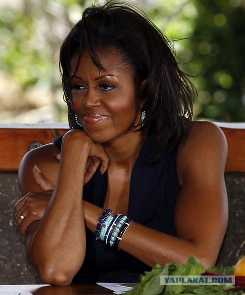 Барак Обама заявил, что его жена не мужчина.