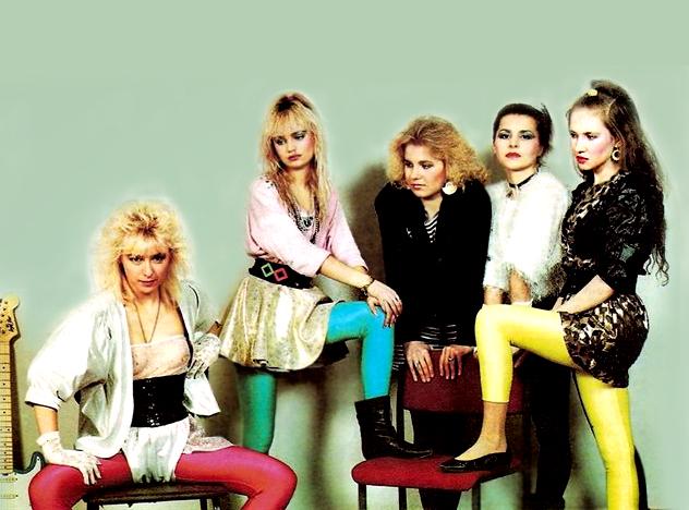 90-х девушки