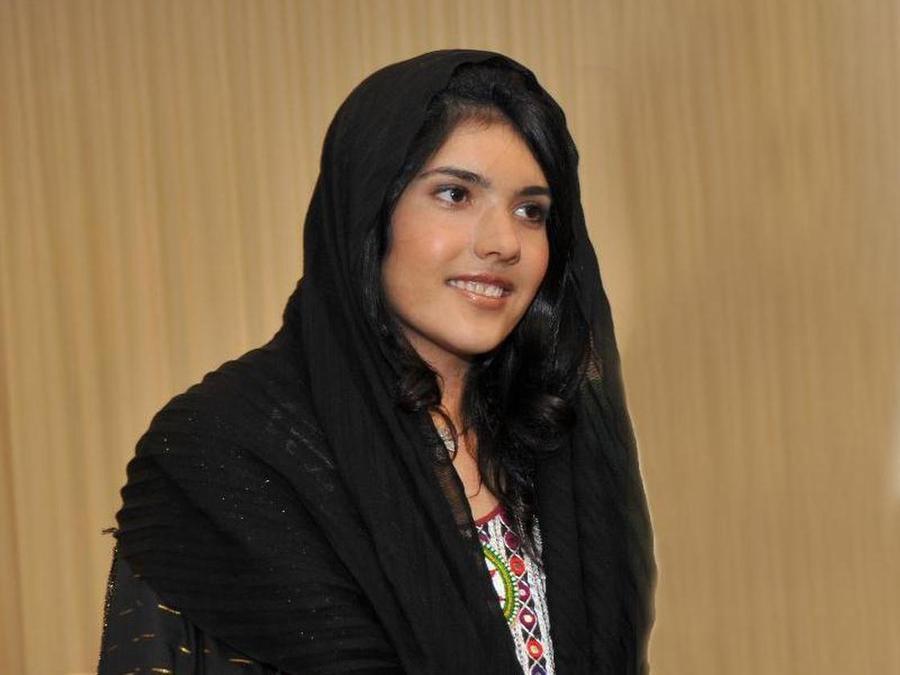 Девушка аиша из афганистана