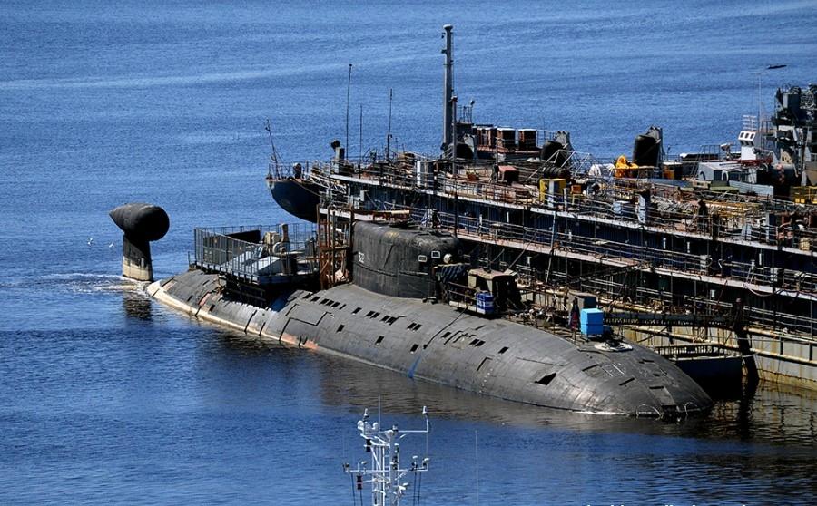 подводная лодка с титановым корпусом