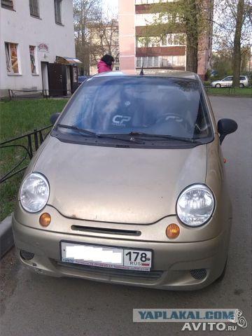 Daewoo Matiz (2006г) СПб