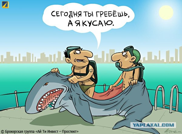 Дагестанские рыбаки и акула