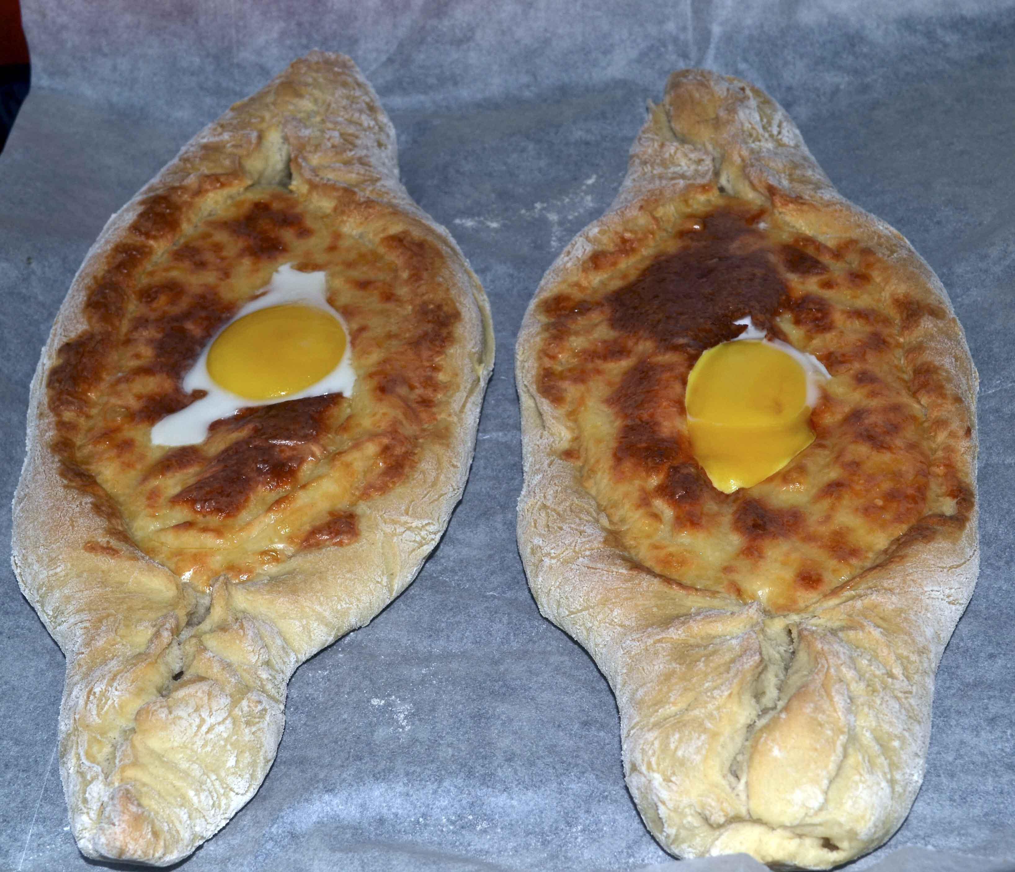 Хачапури по аджарски с готовым тестом рецепт