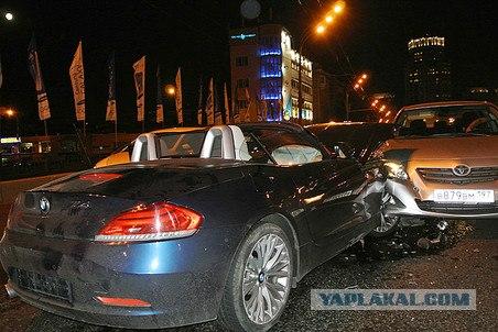 В Москве пьяный священник протаранил 2 машины