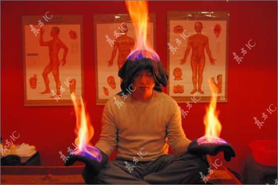 Пламенный массаж (5 фото)