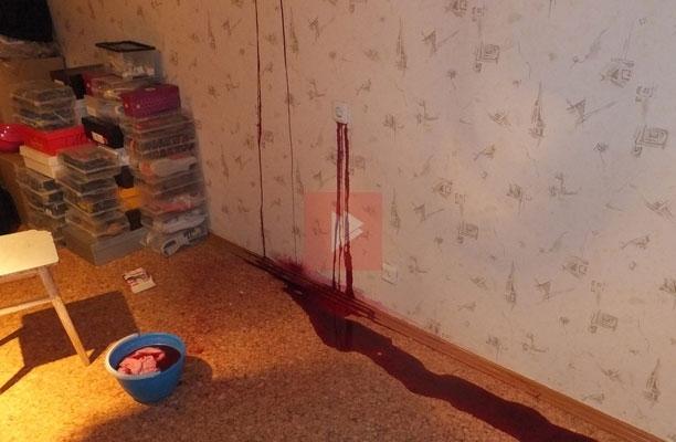 У жительницы Воронежа из розетки течёт похожая на кровь жидкость