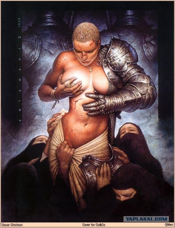 фантастические рисунки эротические