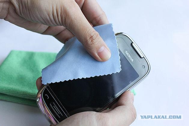 Как отполировать царапины на телефоне в домашних