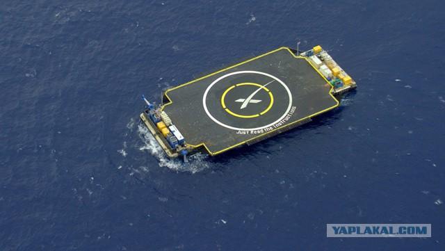 SpaceX - сегодня очередная попытка приземлиться на