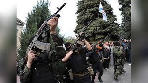 Ополченцы установили контроль над в\ч в Луганске