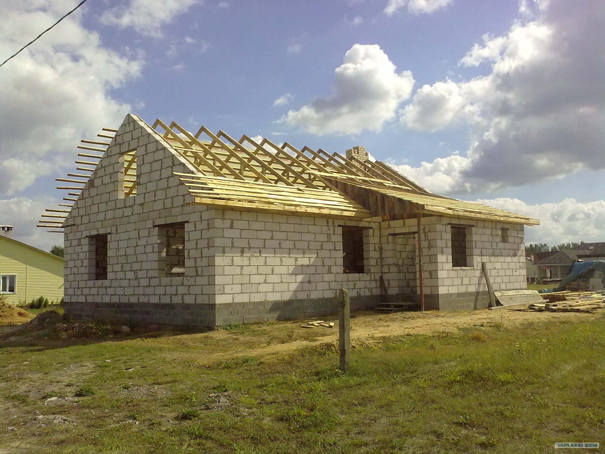 Как я строил дом сам своими руками фотоотчёт 321