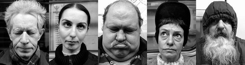знакомые лица в метро