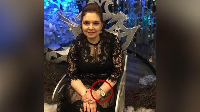 Назвавшая жертв паводка быдлом чиновница носит часы за 2 млн