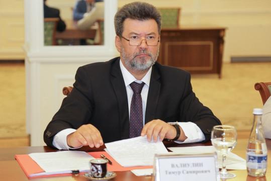 Вотставку подал начальник центра «Э» генерал-майор Тимур Валиулин