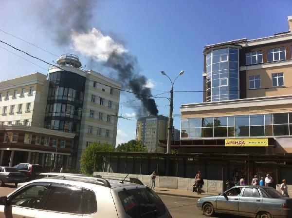 В центре Иванова прогремело несколько взрывов