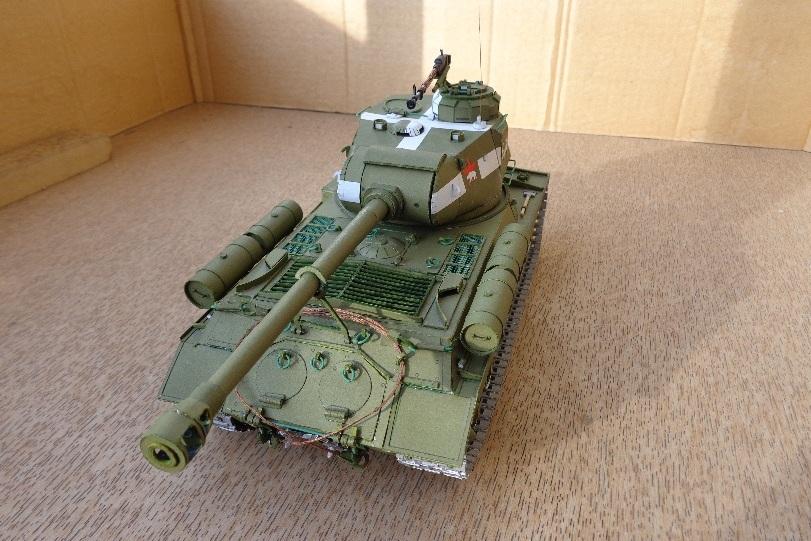 Как сделать танк из бумаги ис 7 видео - МБДОУ детский сад 24