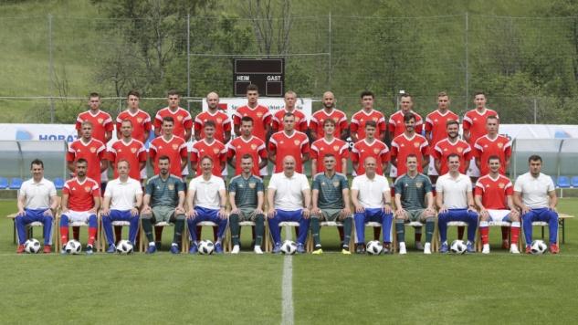 Состав сборной России по футболу на чемпионат мира — 2018