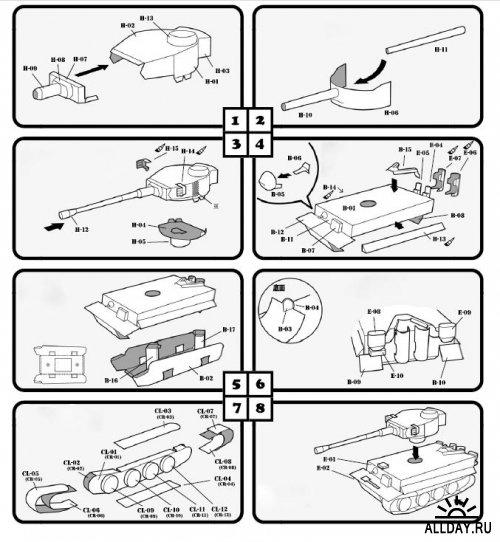 Как сделать макет танка из картона своими