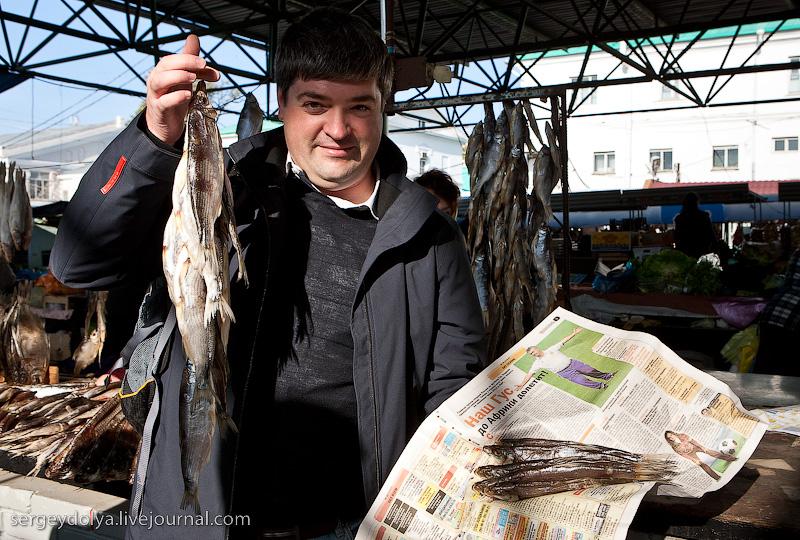 Самой вкусной рыбой считается здесь Рыбец и Шамайка.