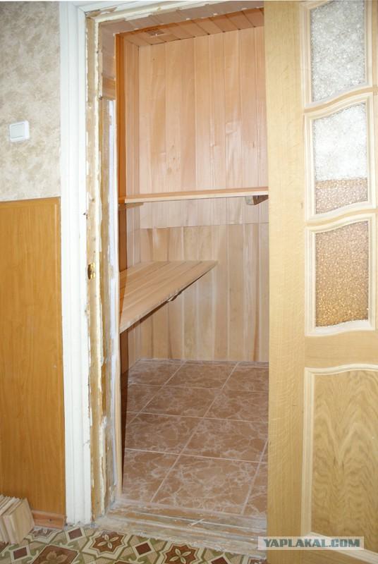 Баня в квартире - всё реально