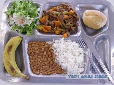 Школьные завтраки в разных странах